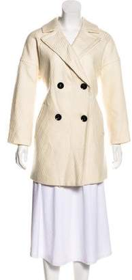 Milly Wool Short Coat w/ Tags