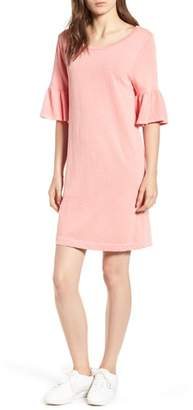 Splendid Ruffle Sleeve Shift Dress