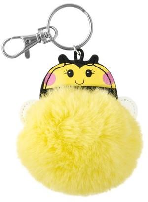 Stephen Joseph Pom Pom Critter Key Chains, Bee