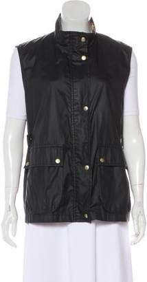 Burberry Lightweight Zip-Up Vest