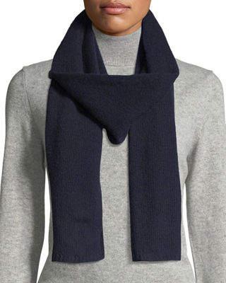 Portolano Men's Cashmere Knit Scarf