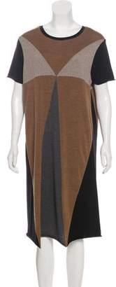 Ter Et Bantine Wool Colorblock Dress