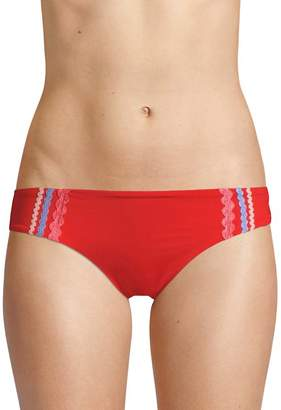Red Carter Swim Women's Ricrac Hipster Bikini Bottom
