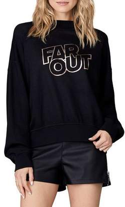 David Lerner Far Out Graphic Pullover