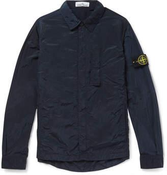 Stone Island Garment-Dyed Shell Shirt Jacket