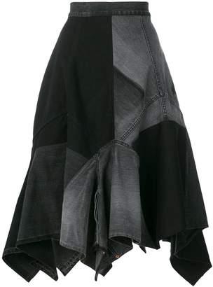 Junya Watanabe napkin skirt