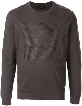 D'urban masked embroidered logo sweatshirt
