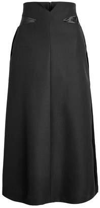 Maison Margiela Virgin Wool Midi Skirt