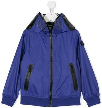 AI Riders On The Storm Kids hooded zip-up jacket