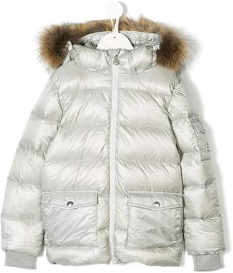 809a84885 Girls Padded Hooded Jacket - ShopStyle UK