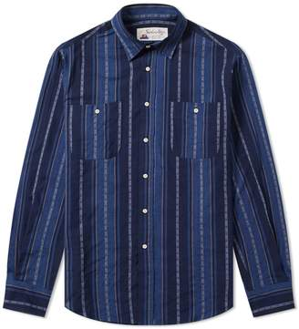 Gitman Brothers Santiago Shirt by Jacquard Stripe Shirt