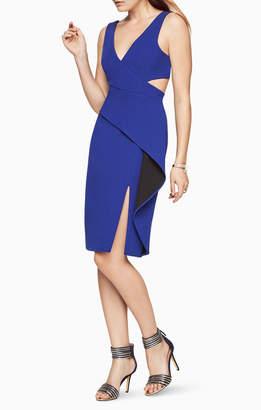 BCBGMAXAZRIA Riya Peplum Dress