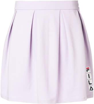 Fila logo pleated skirt