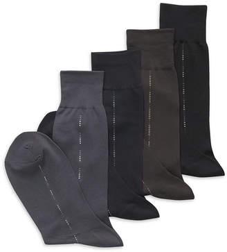 Perry Ellis Men's Microfiber Luxury Stripe Single Pair Socks