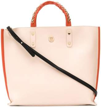 Tommy Hilfiger chain strap tote