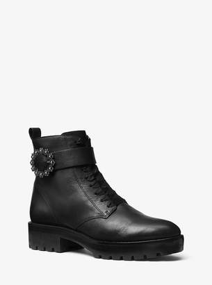 MICHAEL Michael Kors Ryder Leather Ankle Boot