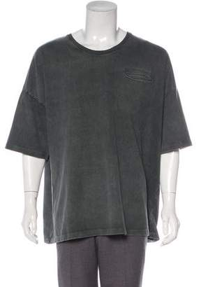 Robert Geller Scoop Neck T-Shirt