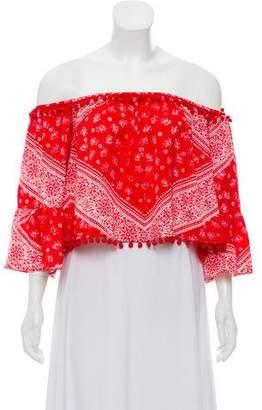 Tularosa Printed Long Sleeve Top