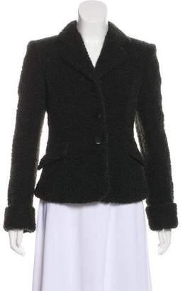 Armani Collezioni Wool-Blend Bouclé Jacket