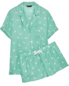 Three J NYC Belle Printed Silk Pajama Set