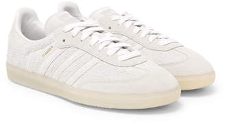 adidas Samba Brushed-Suede Sneakers