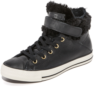 Converse Chuck Taylor All Star Brea High Top Sneakers $80 thestylecure.com