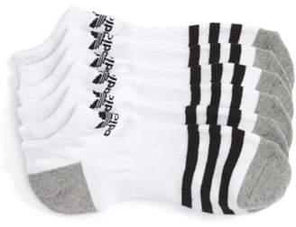 adidas 3-Pack Original Cushioned No-Show Socks