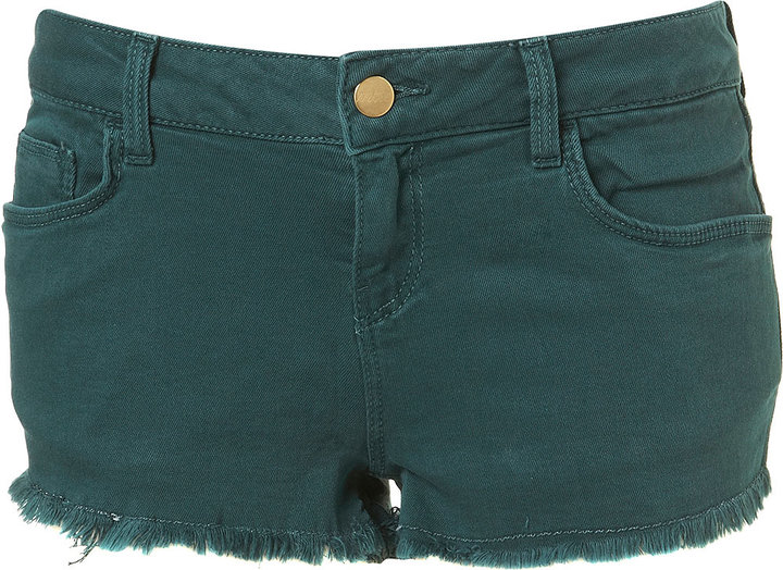 MOTO Forest Green Hotpants