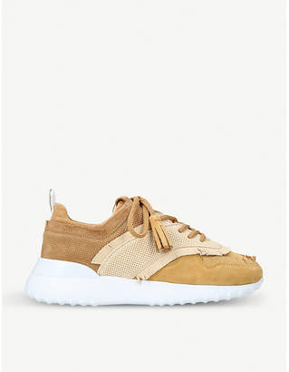 Tod's Tods Fon Sport fringed suede trainers