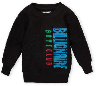 Billionaire Boys Club Toddler Boys) Embroidered Logo Teddy Sweatshirt