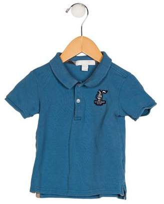 Burberry Boys' Short Sleeve Collar Shirt