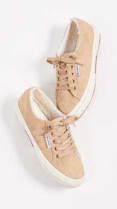 Superga 2750 Suede Lace Up Sneakers