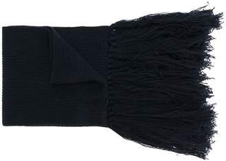 Lanvin tassel-trimmed scarf