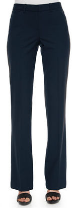 Theory Max Straight-Leg Suit Pants $295 thestylecure.com