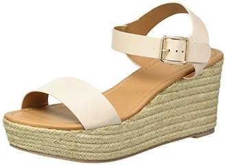 Qupid Women's Espadrille Wedge Sandal