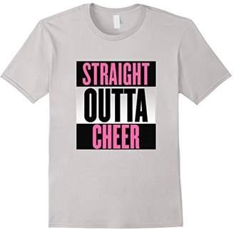 Straight Outta Cheer Cheerleading Cheerleader T-shirt