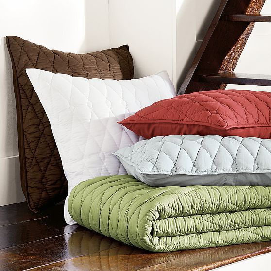 Diamond Quilt + Shams