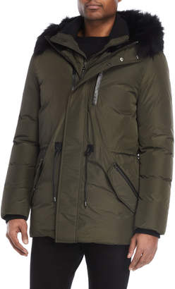 Mackage Army Real Fur-Trimmed Down Jacket