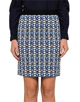 BOSS ORANGE Batuby1 10204675 01 Jacquard Skirt