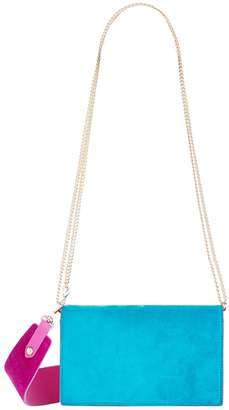 Diane von Furstenberg Leather Soiree Cross Body Bag