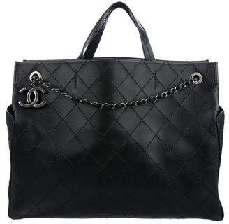 Chanel Quilted Pocket Tote