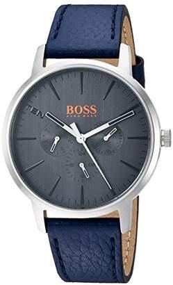 HUGO BOSS Orange Men's 'Copenhagen' Quartz Stainless Steel and Leather Casual Watch