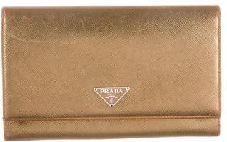 pradaPrada Saffiano Organizer Wallet