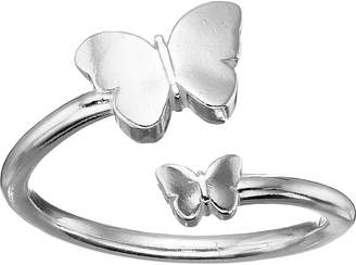 Alex and Ani Ring Wrap Butterfly Ring