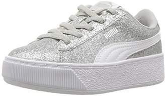 e869b4d91 Puma unisex-kids Vikky Platform Glitz AC PS Sneaker
