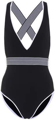Diane von Furstenberg Deep V-neck swimsuit