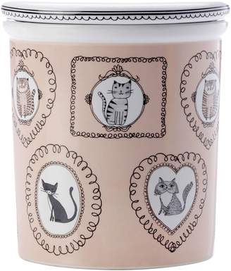 Maxwell & Williams Purrfect Canister, Cream