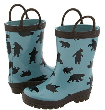 Hatley Kids - Rain Boots (Toddler) (Bear Country)