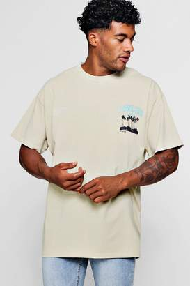 boohoo Oversized Lawless Print T-Shirt