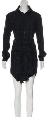 Current/Elliott Button-Up Shirt Dress